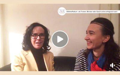 Online Podium im Gespräch mit Kasia Greco